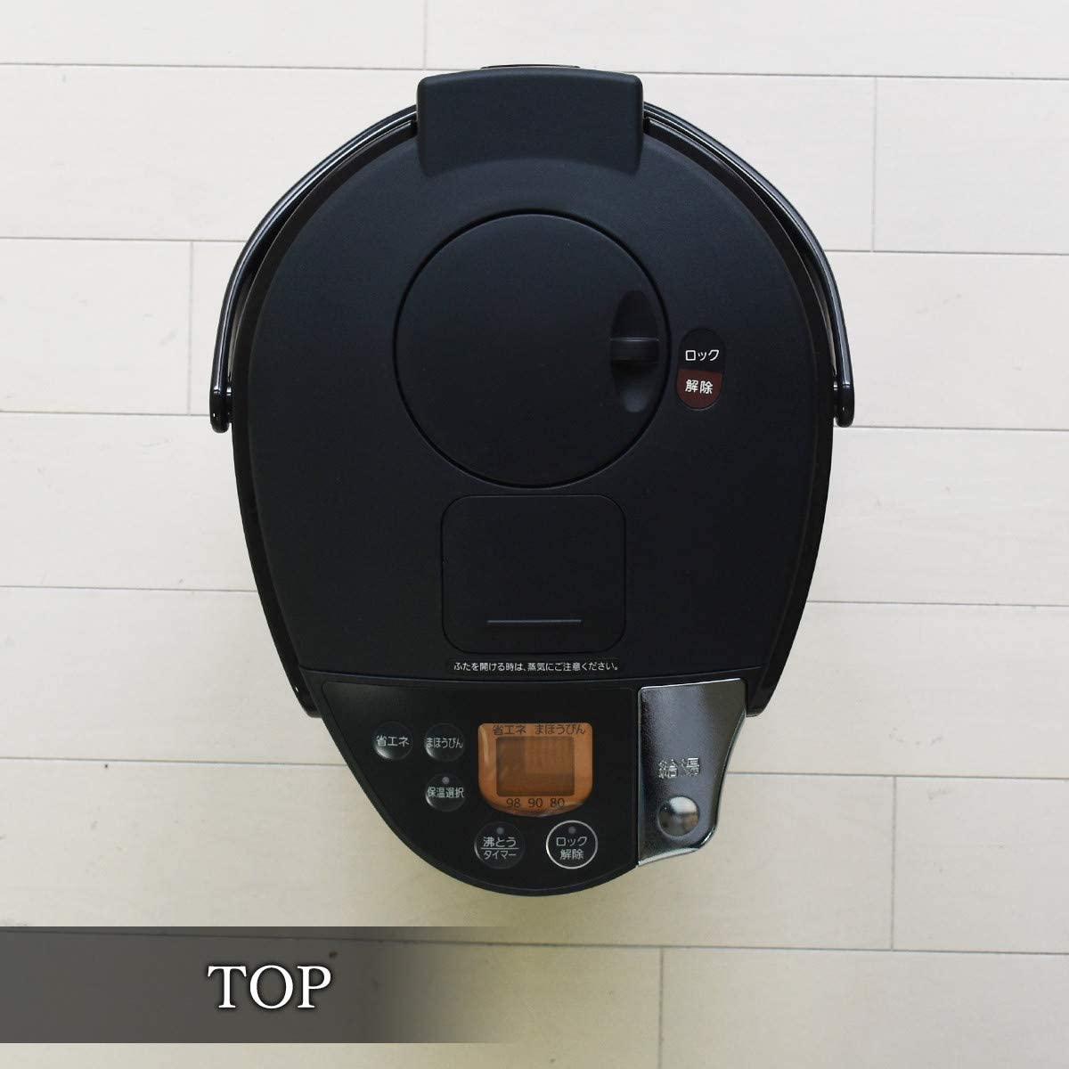 TIGER(タイガー)蒸気レスVE電気まほうびん PIS-A220の商品画像10