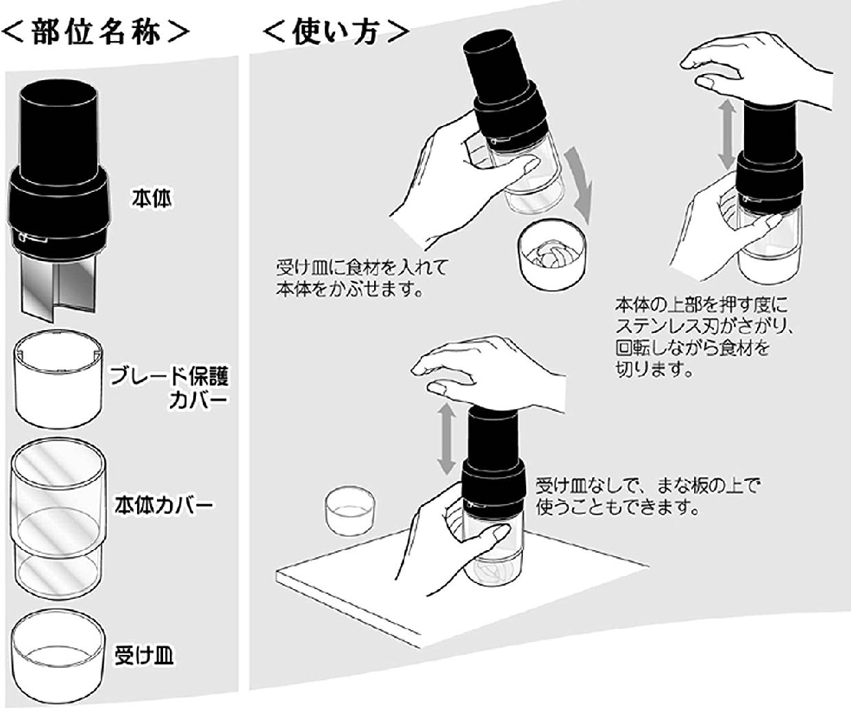 エムワンプレカット チョッパー H0005 ブラックの商品画像4