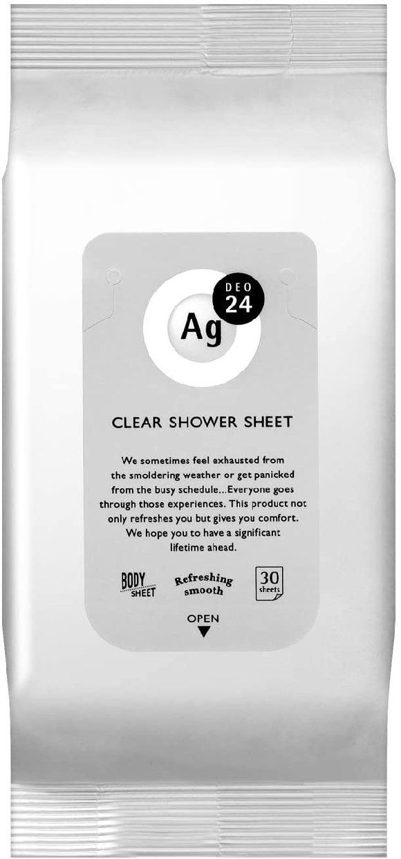 Ag DEO24(エージーデオ24) クリアシャワーシートnの商品画像2