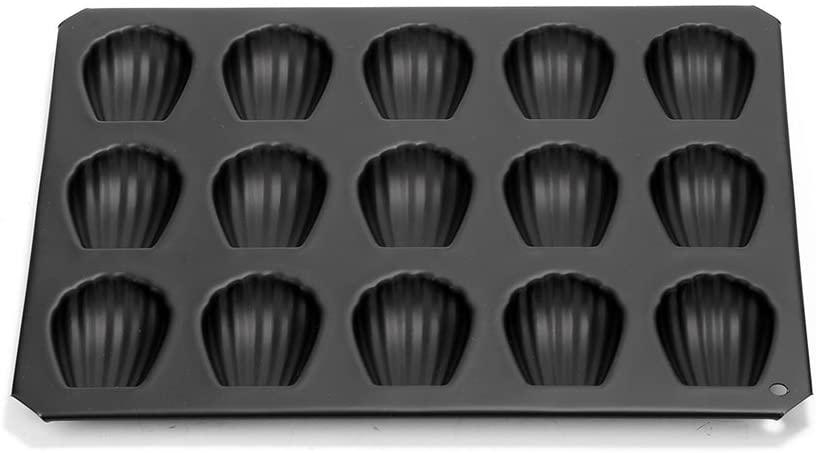 タイガークラウンB.マドレーヌシェル型15P ブラック 5084の商品画像