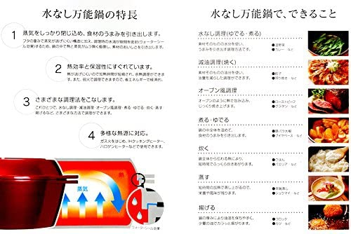 Skater(スケーター) IH・ガス火対応 水なし万能鍋 ANWP1の商品画像8