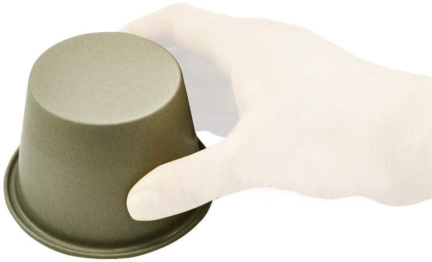 Kai House SELECT(カイハウスセレクト)おうちでかんたんテフロン加工のプリン型(特大)55gの商品画像4