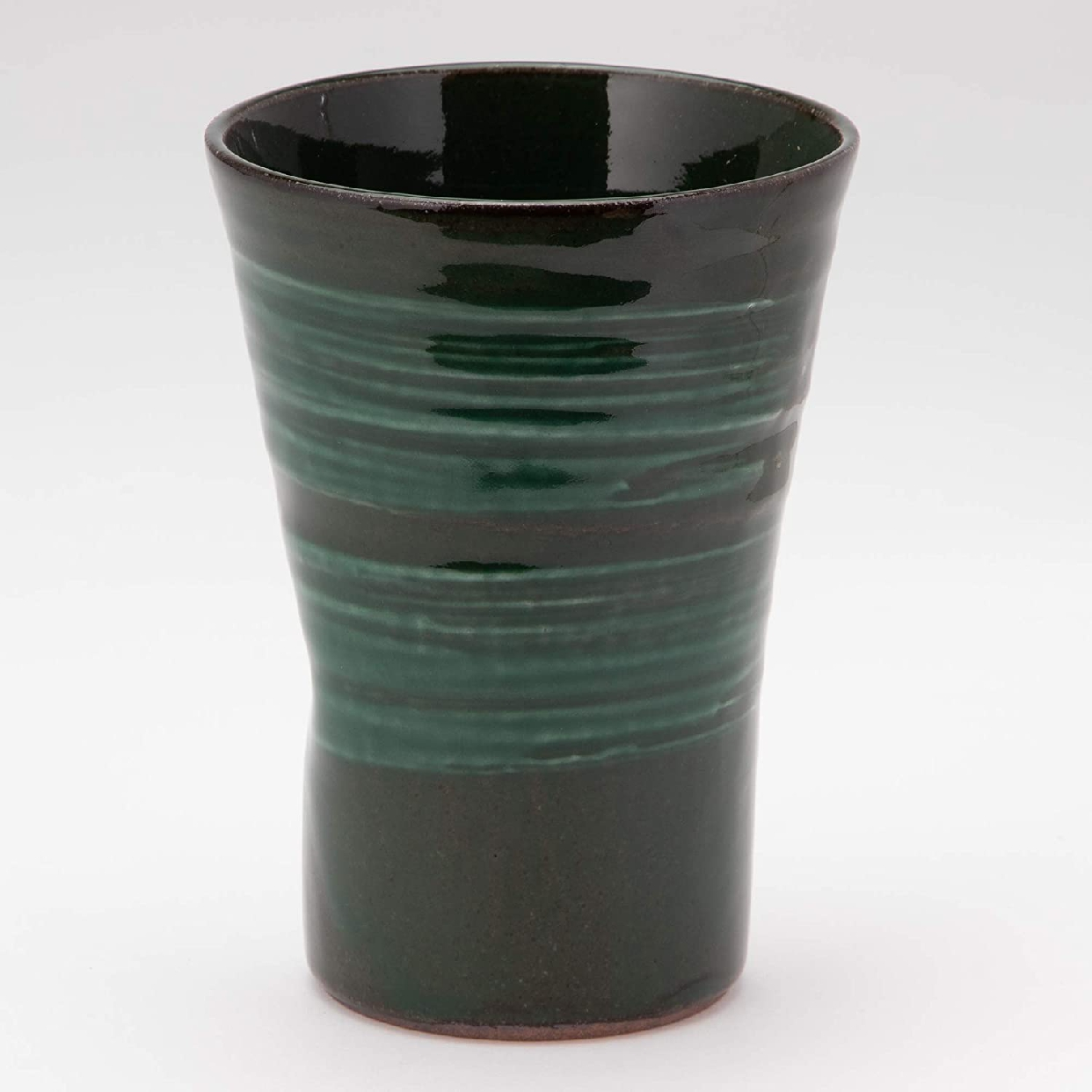 MINO CRAFT. 持ち易い焼酎カップ エメラルド K51148の商品画像2