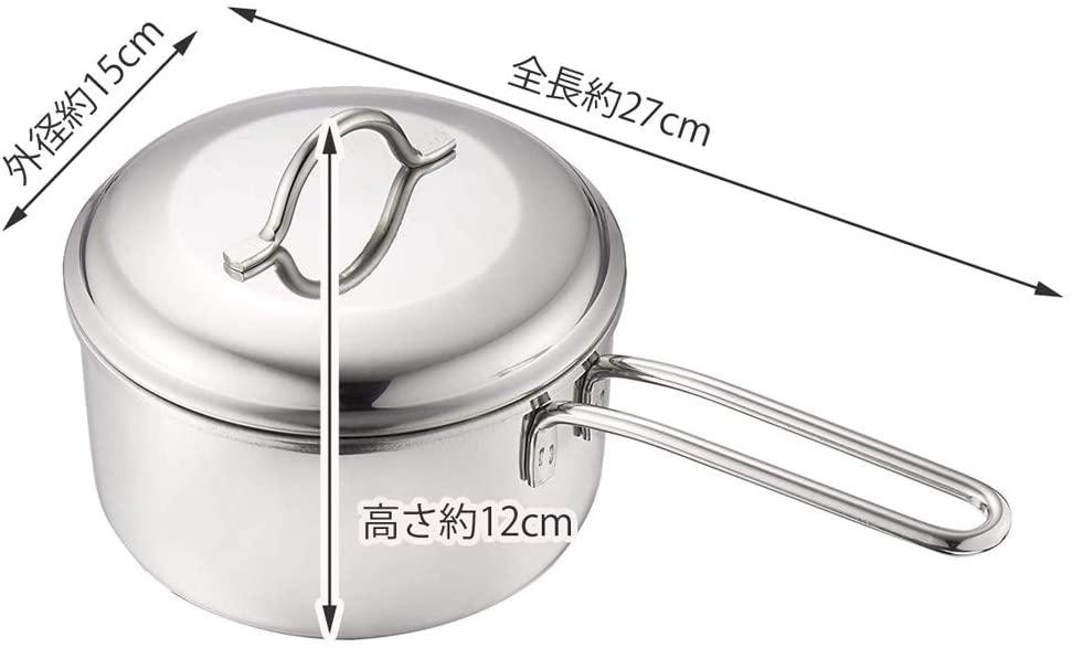 貝印(かいじるし)煮込み鍋 ユータイム3 ミニ 14㎝ DZ2001の商品画像5