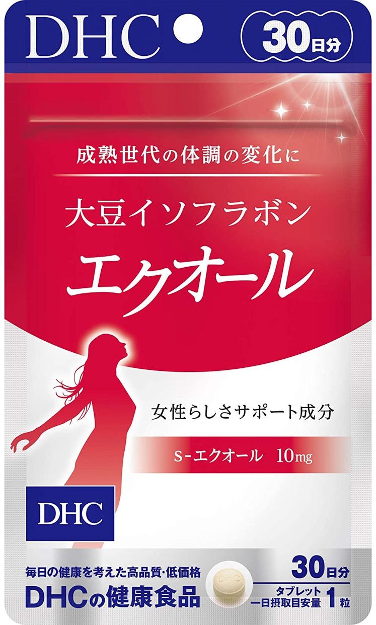 DHC(ディーエイチシー) 大豆イソフラボン エクオールの商品画像