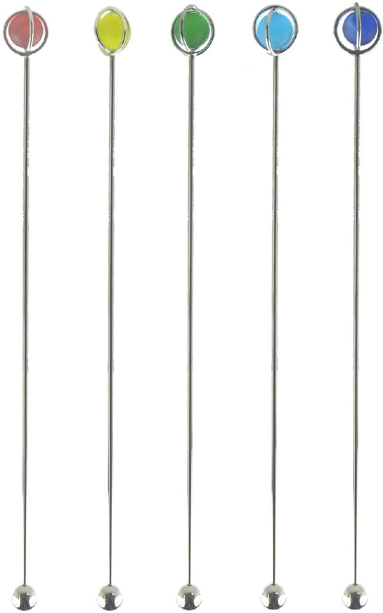 NAGAO(ナガオ)プラネット マドラー レッド イエロー グリーン ブルー ネイビー 5本セットの商品画像