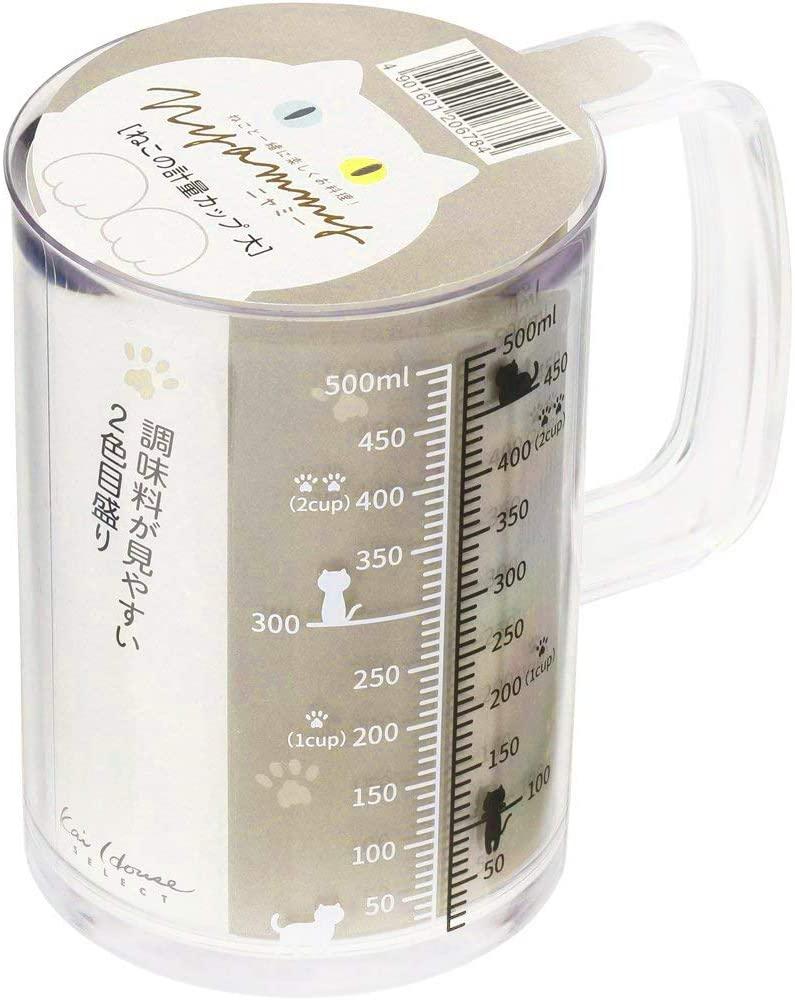 貝印(KAI) Nyammy(ニャミー) ねこの計量カップ DH2728の商品画像5