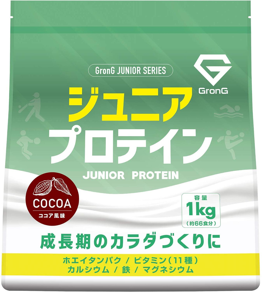 GronG(グロング) ジュニアプロテインの商品画像