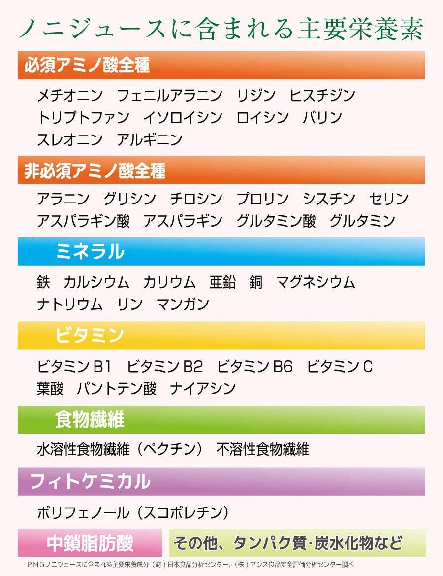 PMG 濃厚ノニジュースの商品画像6