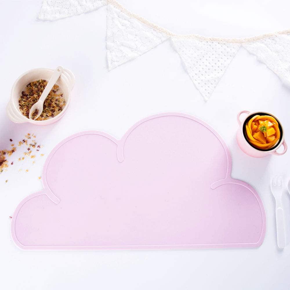 Standard(スタンダード)ランチョンマット キッズ 雲(ライトピンク)の商品画像3