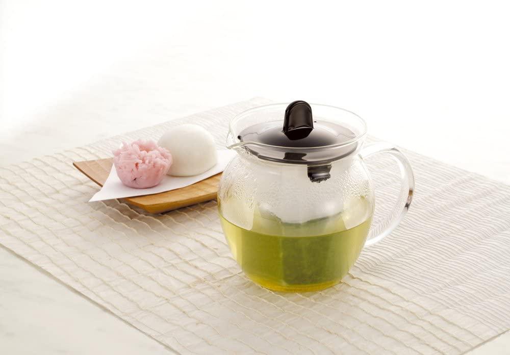 iwaki(イワキ) お茶ポット 480ml ブラック K853T-BKの商品画像5