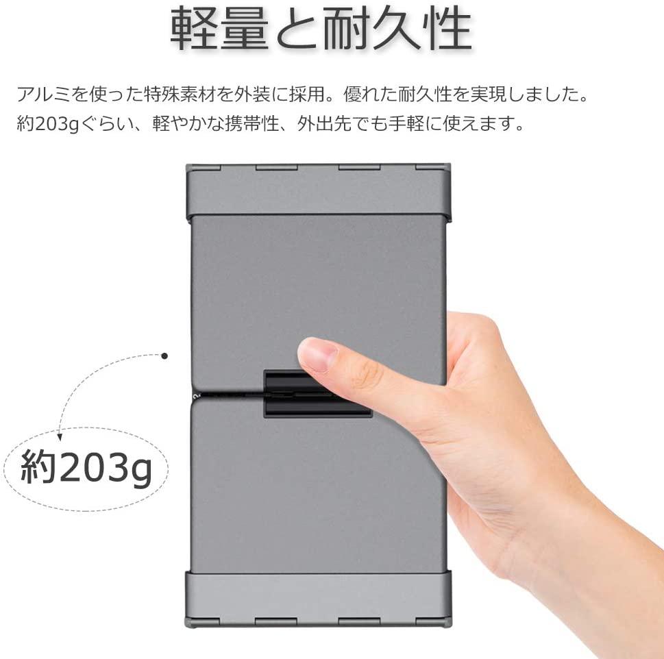 iClever(アイクレバー) 折畳み式Bluetoothキーボード IC-BK08の商品画像5