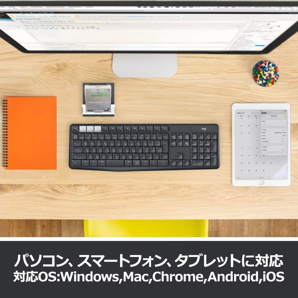 logicool(ロジクール) ワイヤレスキーボード K375sの商品画像3