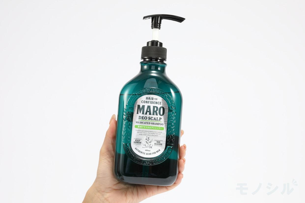 MARO(マーロ)薬用 デオスカルプ シャンプーの手持ちの商品画像