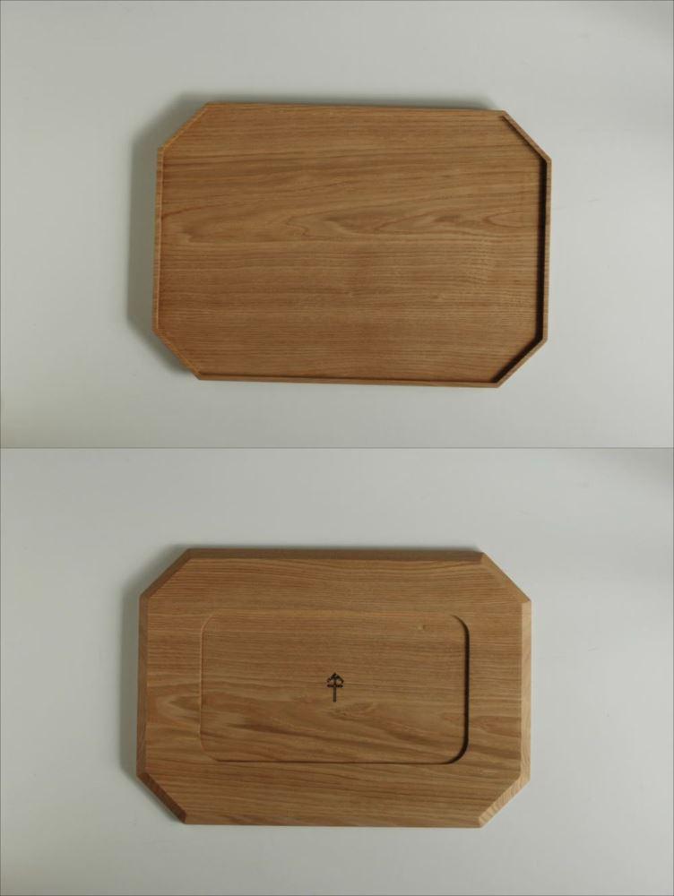 倉敷意匠計画室(くらしきいしょうけいかくしつ)栗の八角トレイLの商品画像2
