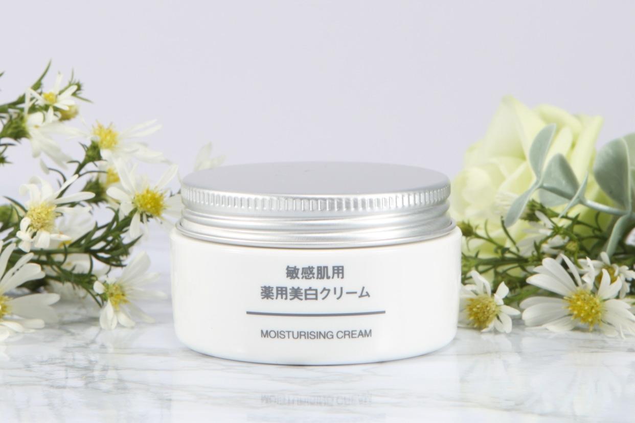 無印良品(むじるしりょうひん)敏感肌用薬用美白クリームの商品画像