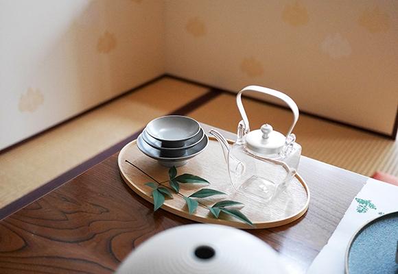 OJIGI TOKYO(オジギ トウキョウ)白木盆 シルバー 屠蘇器揃 化粧箱入りの商品画像9