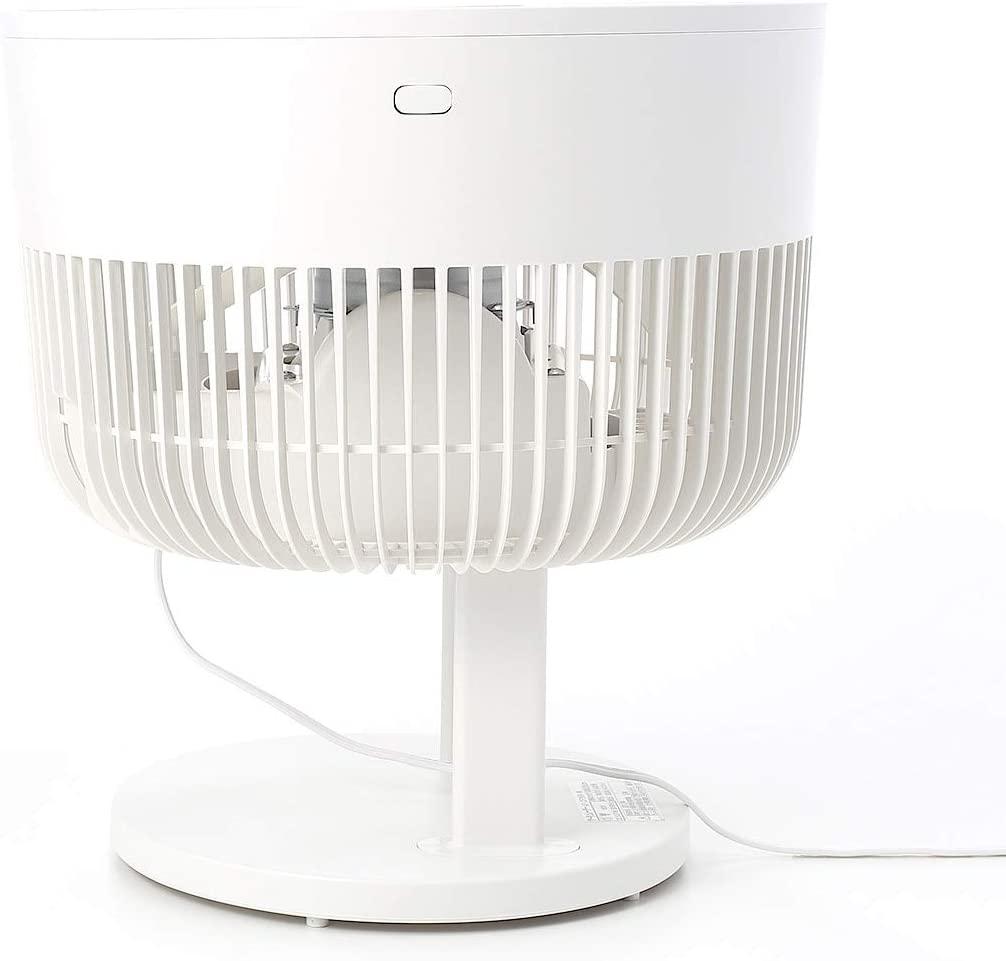 無印良品(MUJI) サーキュレーター(低騒音ファン・大風量タイプ) AT-CF26R-Wの商品画像12