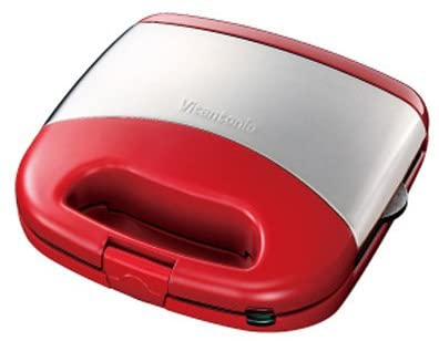 Vitantonio(ビタントニオ) ワッフル&ホットサンドベーカー VWH-20-Rの商品画像