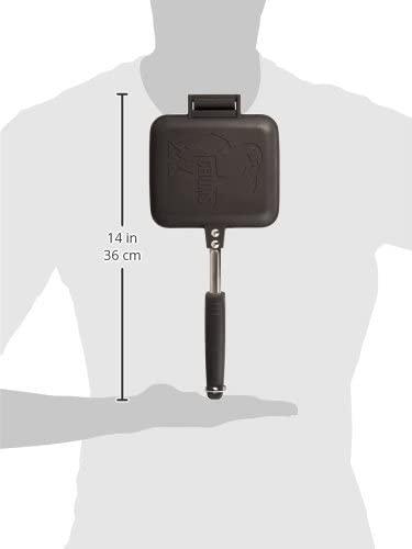 CHUMS(チャムス) ホットサンドイッチクッカー CH62-1039 ブラックの商品画像3