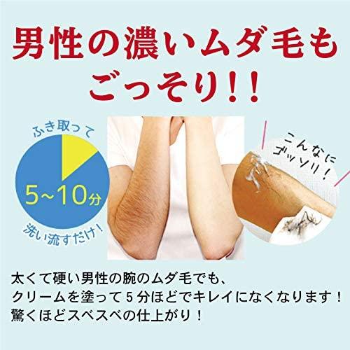 鈴木ハーブ研究所(すずきはーぶけんきゅうしょ)パイナップル豆乳 除毛クリームの商品画像2