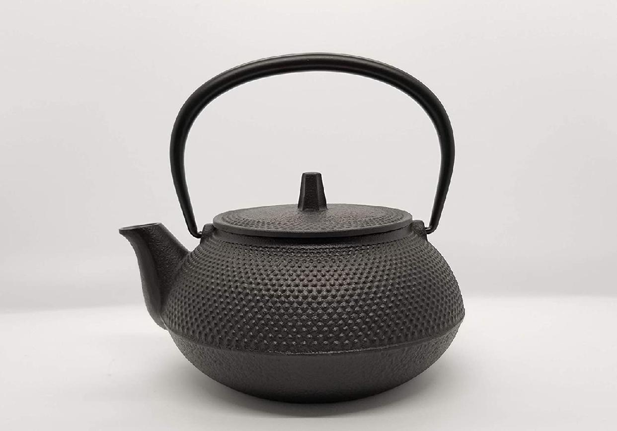 岩鋳(Iwachu) 鉄瓶兼用急須 5型新アラレ ブラックの商品画像2