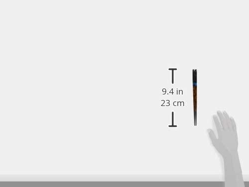 マツ勘(マツカン) マツ勘 箸 夜空ペア T430-16026 黒・朱の商品画像2