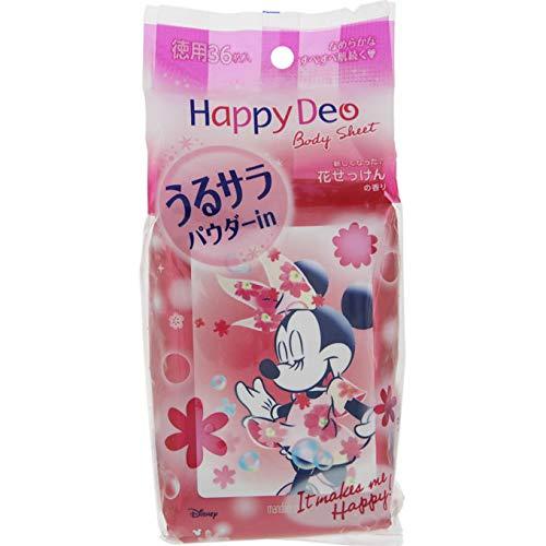 Happy Deo(ハッピーデオ) ボディシート うるサラ パウダーインの商品画像