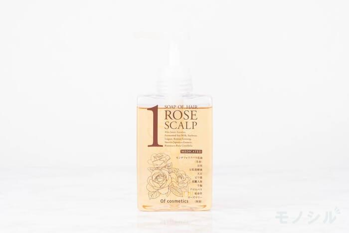 Of cosmetics(オブ・コスメティックス) 薬用ソープオブヘア・1-ROスキャルプ (ローズブーケの香り)の商品画像5