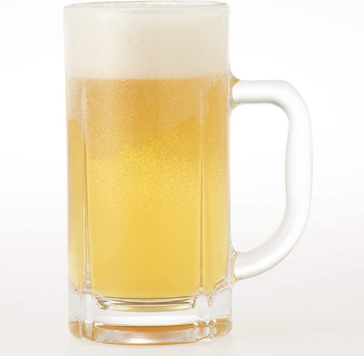 トウヨウササキガラス ビールジョッキ 340ml 55483の商品画像2