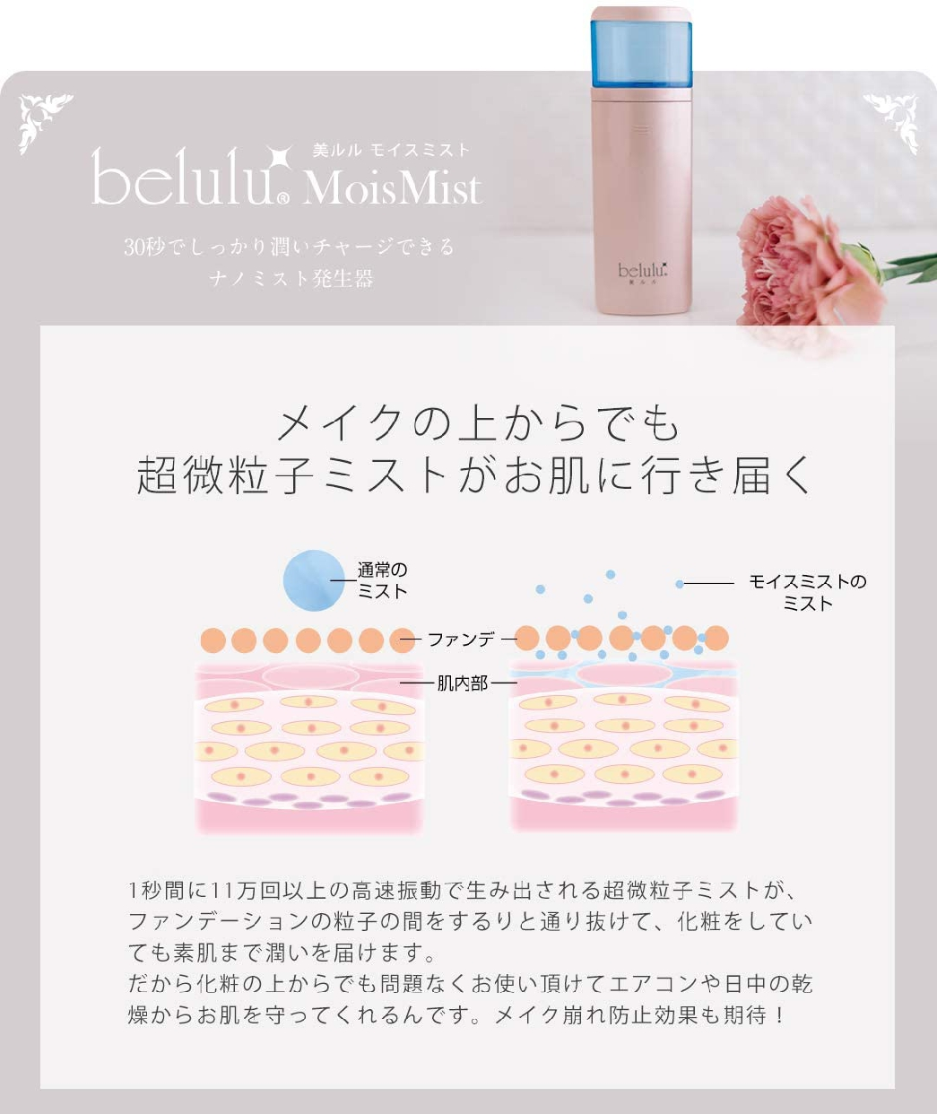 belulu(びるる)美ルル モイスミスト KRD-1028の商品画像4