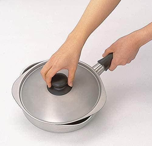 柳宗理(やなぎそうり)ステンレス片手鍋 22cm ふた付き つや消しの商品画像4