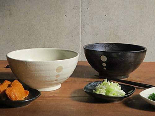 TABLE WARE EAST.(テーブルウェアイースト) 和食器 水玉 さぬきどんぶり (大)白の商品画像3