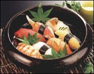 越前漆器さじべえ 7寸寿冠寿司桶 エメラルドの商品画像2