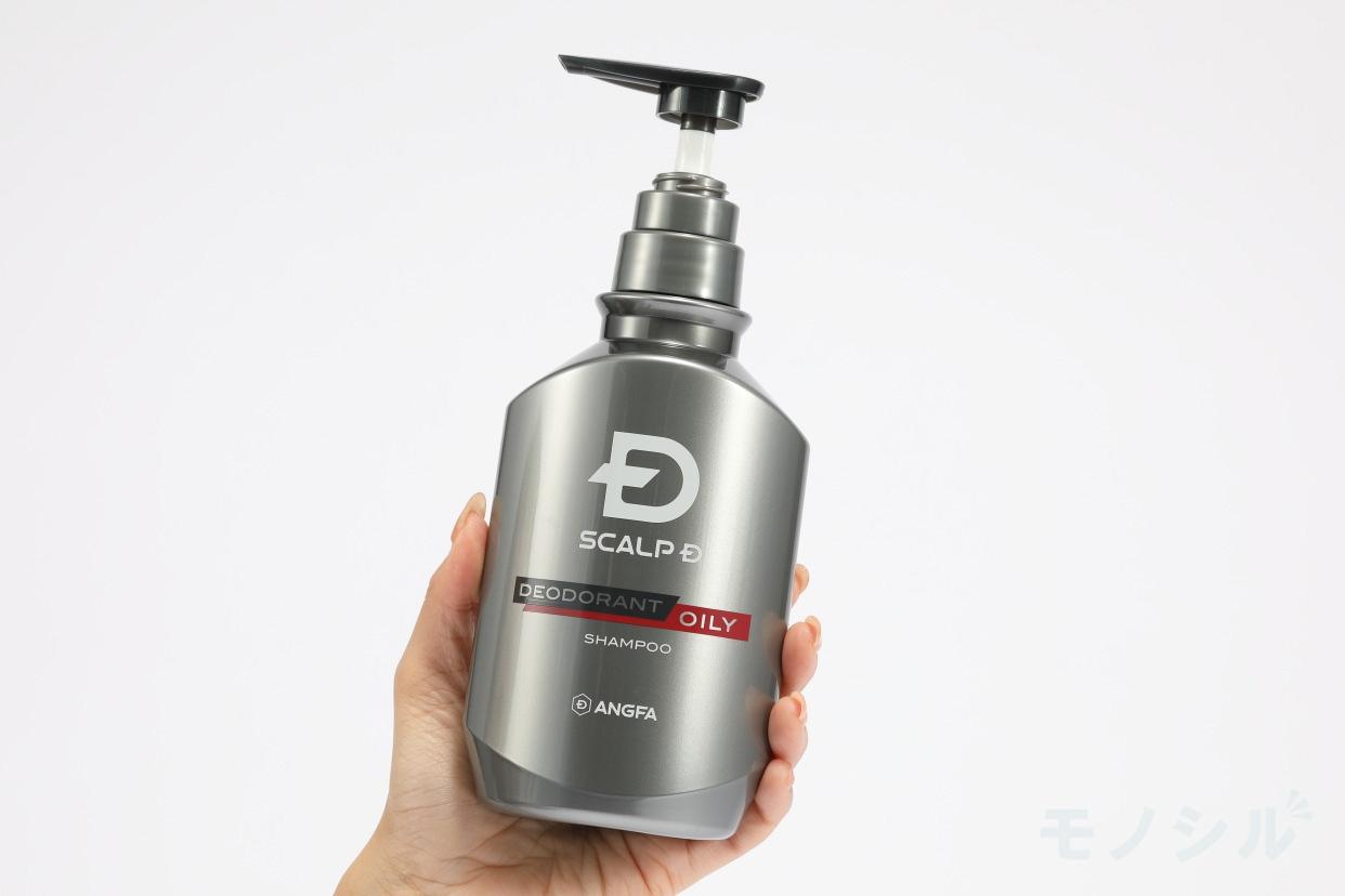 SCALP D(スカルプD) 薬用スカルプシャンプー デオドラントオイリーの手持ちの商品画像