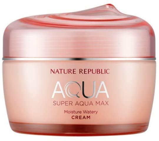 NATURE REPUBLIC(ネイチャーリパブリック) スーパーアクアマックス モイスチャー水分クリーム (乾燥肌)の商品画像