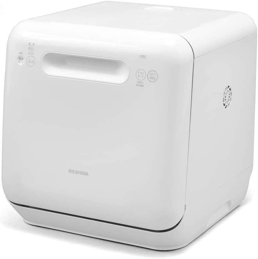 IRIS OHYAMA(アイリスオーヤマ) 食器洗い乾燥機 ホワイト ISHT-5000-Wの商品画像