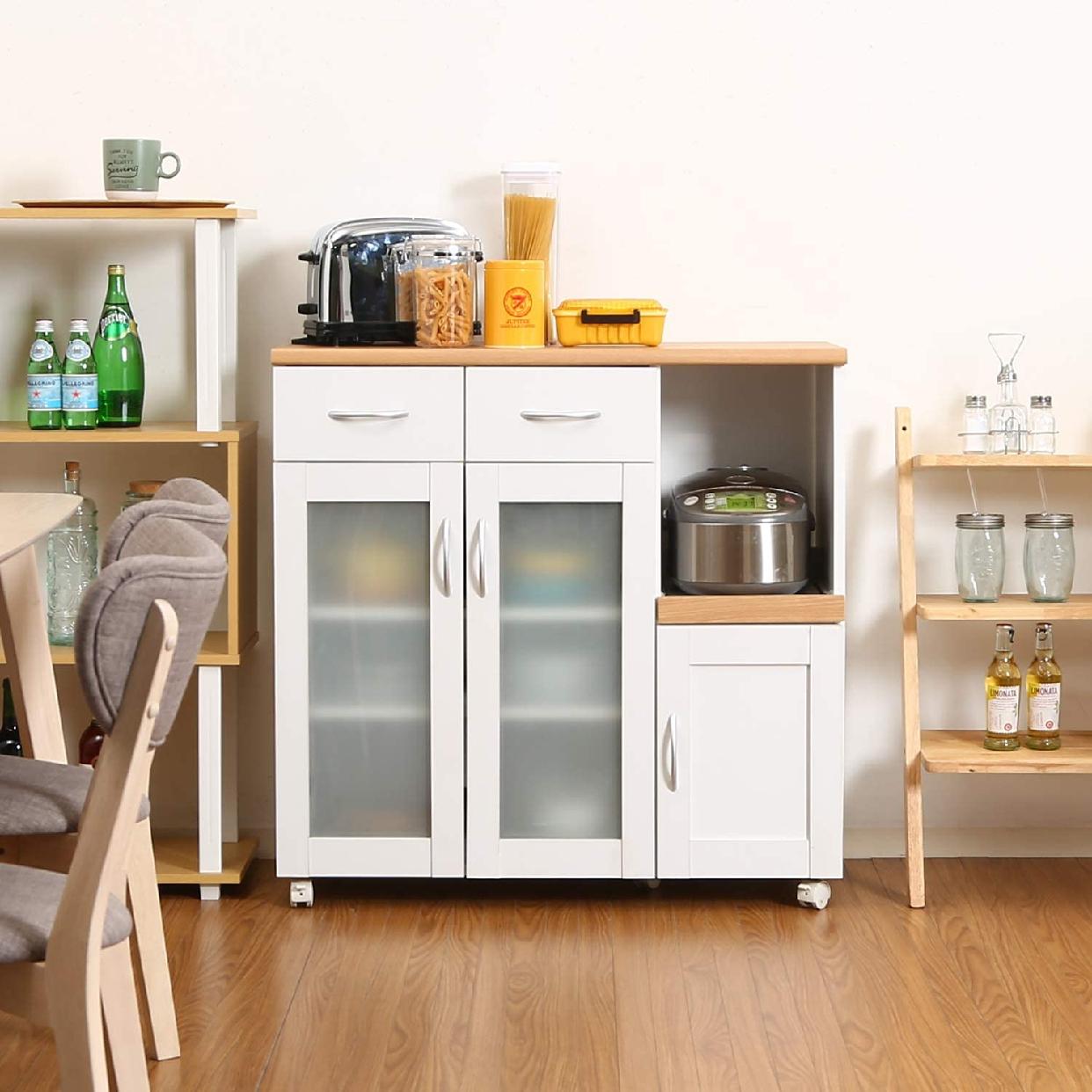 Sage(サージュ)キッチンカウンター 96819 幅90cmの商品画像9