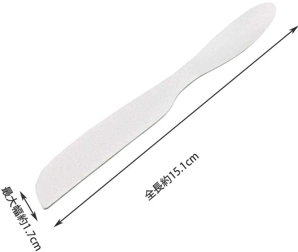 貝印(カイジルシ)手の熱で溶かして切れるバターナイフ FA5153 シルバーの商品画像3