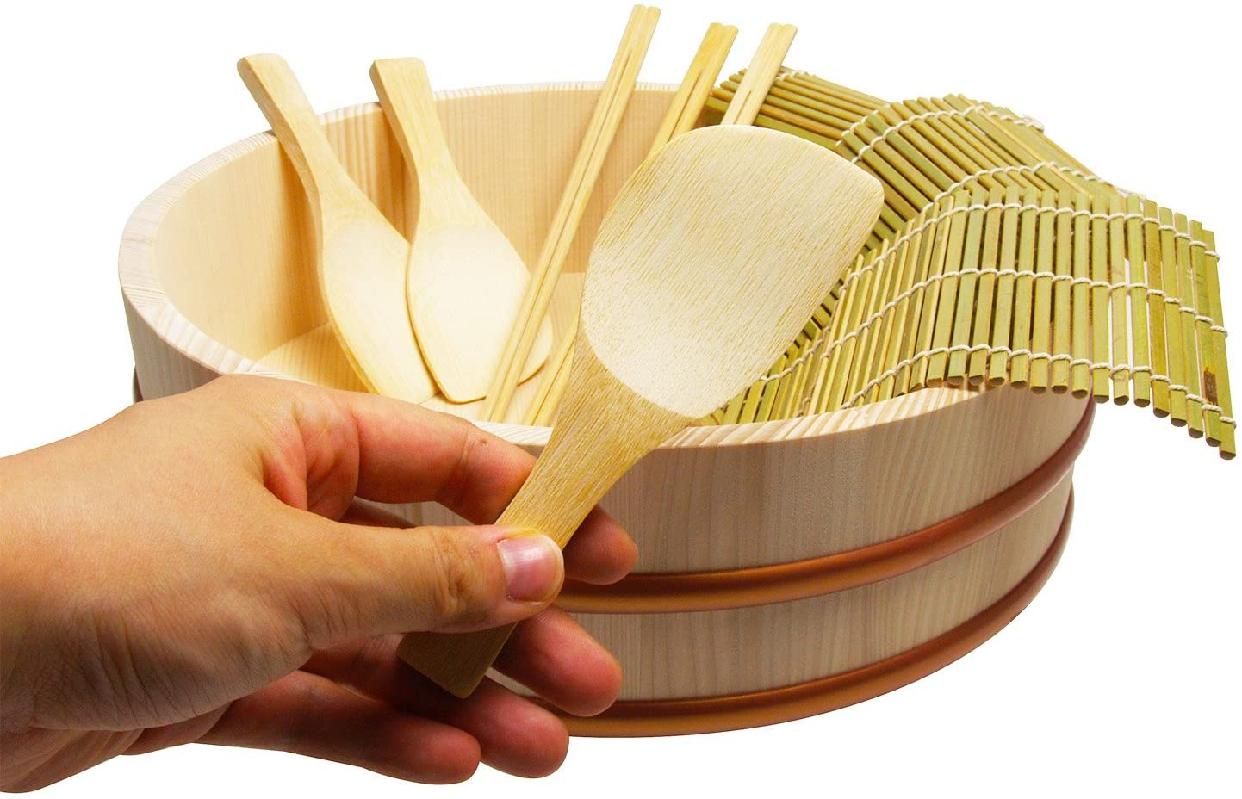 立花容器 寿司桶 手巻き寿司 セット 30cmの商品画像5