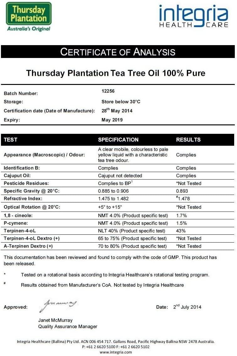 TEA TREE THERAPY(ティーツリーセラピー)ティーツリーオイルの商品画像2