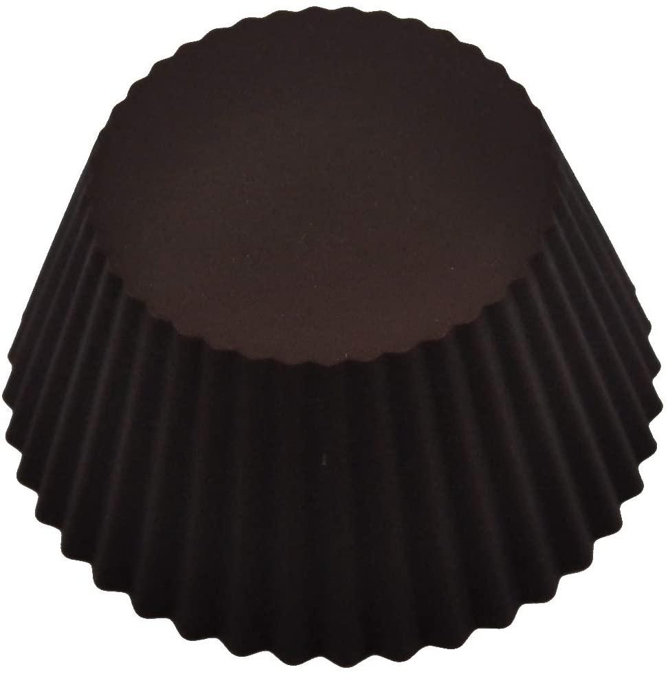 Kai House SELECT(カイハウスセレクト)型ばなれしやすいシリコーン製のマフィンカップ4個入り DL6354 ブラウンの商品画像5