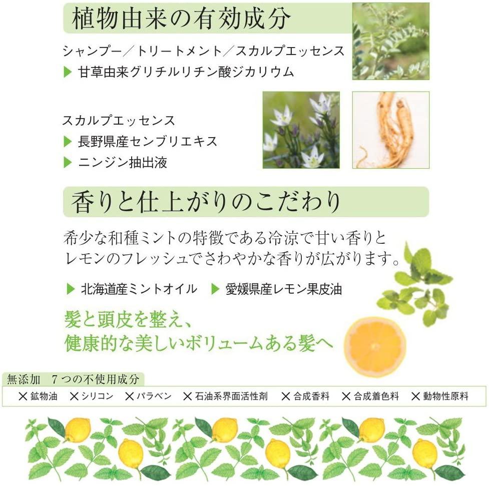 凛恋(リンレン)レメディアル シャンプー ミント&レモンの商品画像13