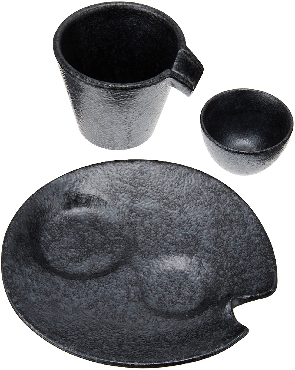 ale-net(エールネット)銀黒しずる冷酒器セットの商品画像2