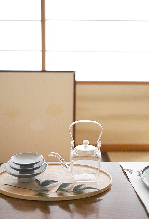 OJIGI TOKYO(オジギ トウキョウ)白木盆 シルバー 屠蘇器揃 化粧箱入りの商品画像5