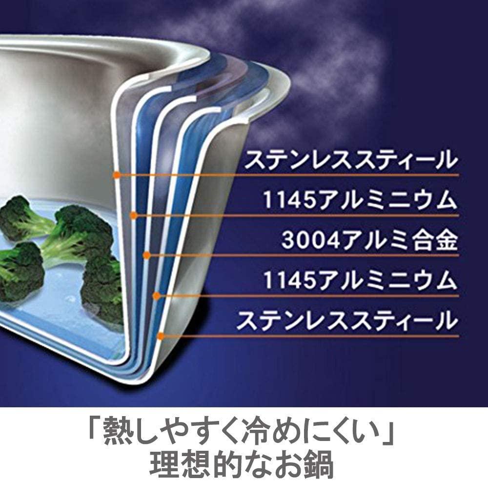 Vita Craft(ビタクラフト) オレゴン 両手ナベの商品画像3
