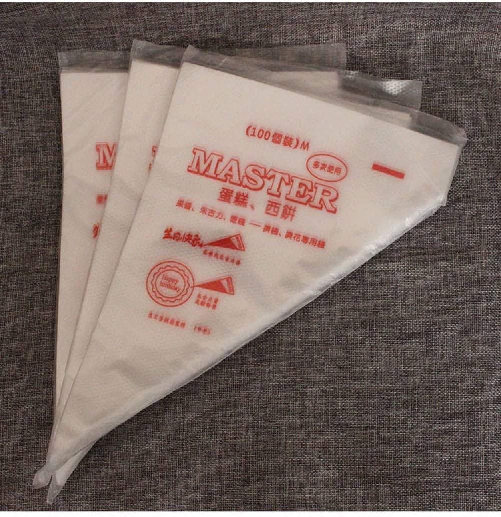Amandakasa(アマンダカサ) 絞り袋 (中) 100枚入 クリアの商品画像