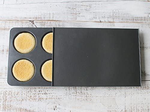cotta(コッタ)イングリッシュマフィン型(6個取り)091413 ブラックの商品画像2