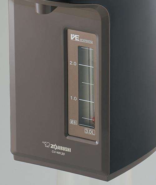 象印(ぞうじるし)マイコン沸とうVE電気まほうびん 優湯生(ゆうとうせい)/CV-WK40−40の商品画像5