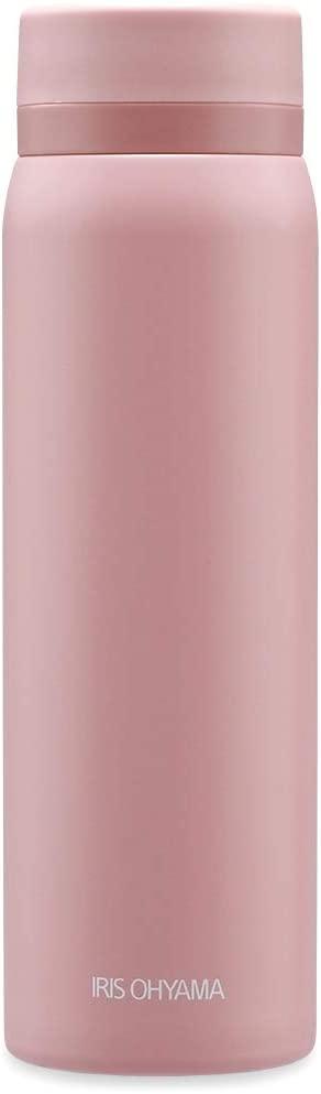 IRIS OHYAMA(アイリスオーヤマ) ステンレスケータイボトル スクリュー SB-S500 スモーキーピンクの商品画像